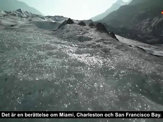 De smältande glaciärerna i Alaska väcker varningsklockor om framtiden