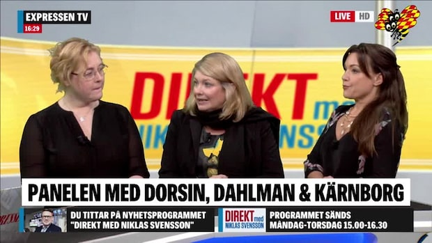 Torsdagspanelen med Dorsin, Dahlman och Kärnborg