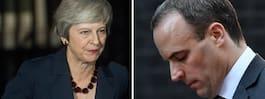 Mays brexitminister avgår i protest