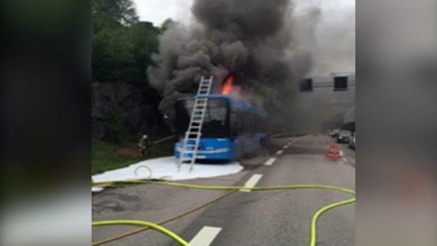 Kazems hjälteinsats när gasbussen exploderade