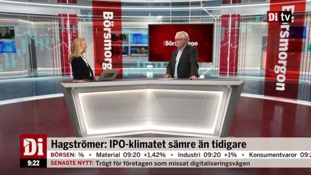 """Hagströmer om IPO-klimatet: """"Har nästan torkat upp"""""""