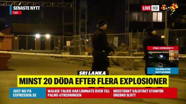 Två personer döda efter skottlossning i Helsingborg