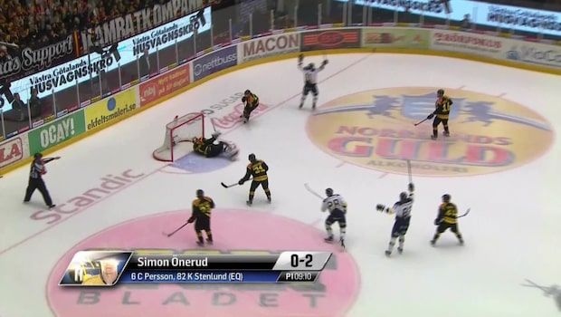 Highlights: Brynäs-HV 71 3-5