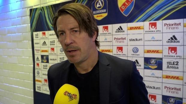 """Lagerlöf: """"Alla känner att det var våran match"""""""