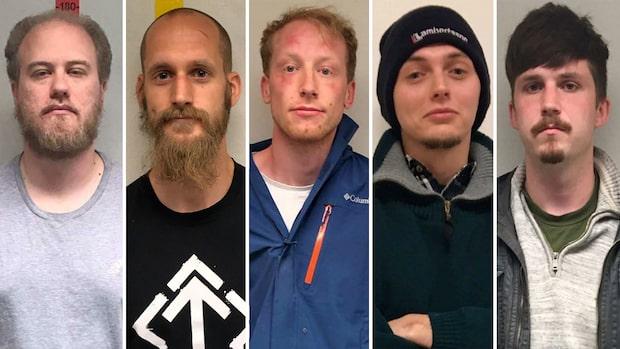 Sju medlemmar i nazistiska NMR inför rätta för misshandel