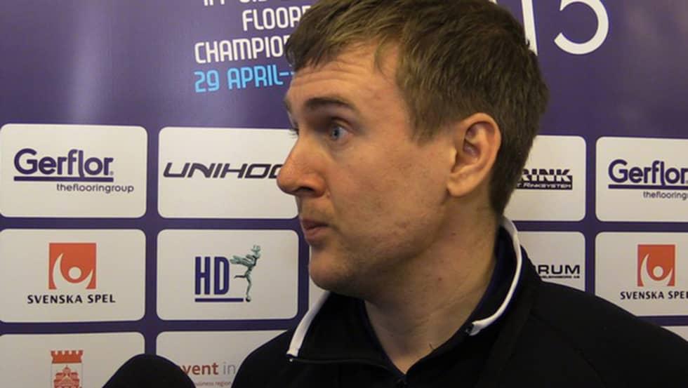 Andreas Harnesk blev tränare i Iksu 2014. Då som assisterande. Foto: Youtube.