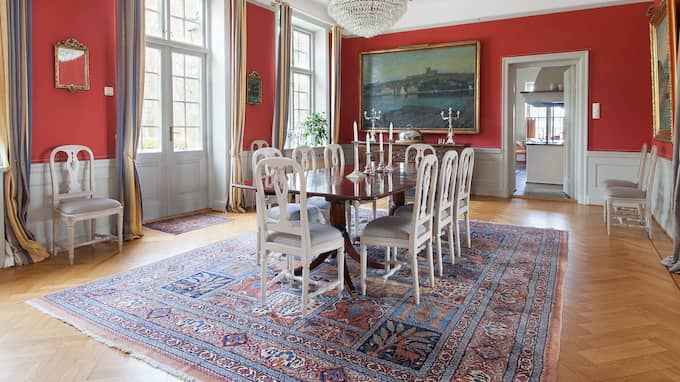 Här kan man äta middag. Foto: Jörgen Hinder, Skeppsholmen Sothebys