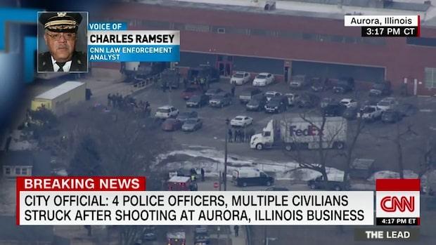 Flera skadade i skottlossning utanför Chicago