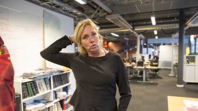 """Anne Lundberg är programledare för """"Antikrundan"""". Foto: Ulf Ryd / KVP/EXPR"""