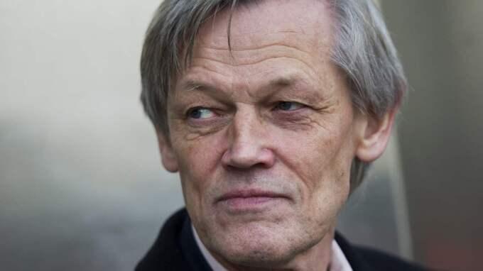 Göran Lambertz lägger från och med nu ner det offensiva debatterandet av Quickärendet. Foto: Fredrik Sandberg/TT