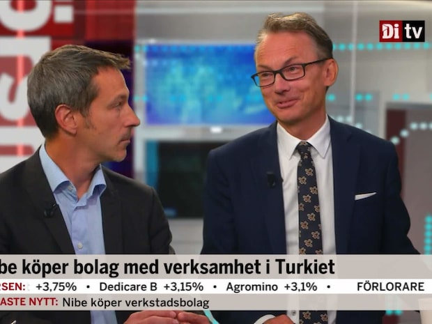 """Ekman, Erik Penser: """"Vi kommer se fler förvärv från Nibe"""""""