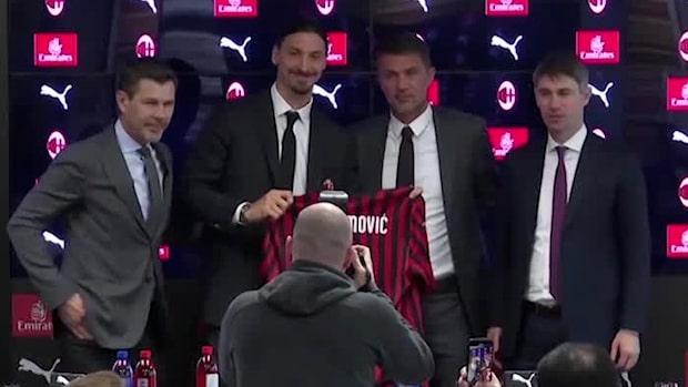 """Zlatan om Milan: """"Jag spelar inte för pengarna"""""""