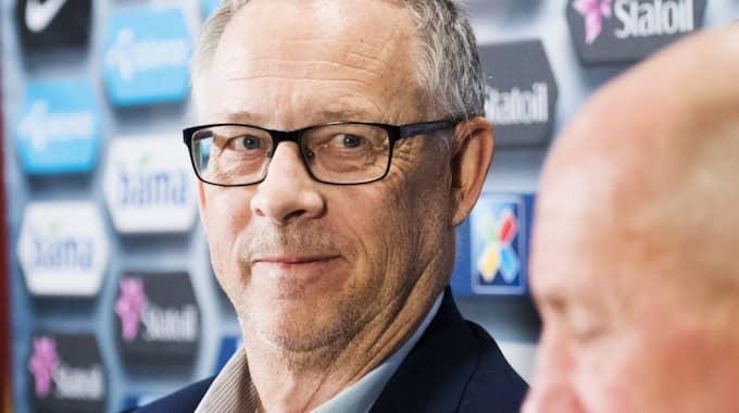Lars Lagerbäck, förbundskapten Norge. Foto: Jon Olav Nesvold / BILDBYRÅN