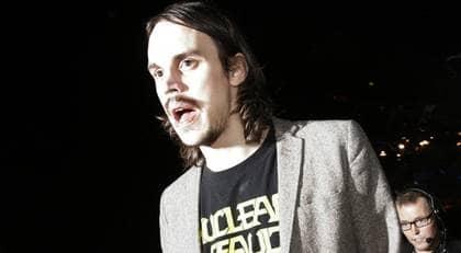 """ÅKTE UTAN SITT PRIS. Kleerup lämnade galan innan den var slut. Han förklarade sin ilska med """"det här handlar om Säpo"""". Foto: Stefan Forsell"""