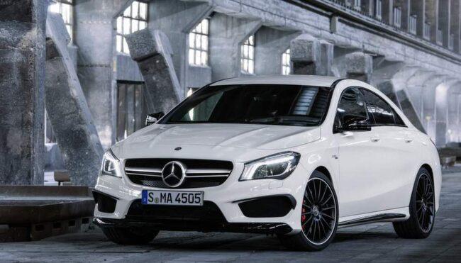 Mercedes CLA-klass.