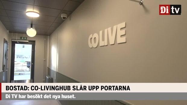 Bostad: Co-Livinghub slår upp portarna