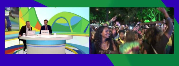 Bolt-fansens galna guldfirande i Rio