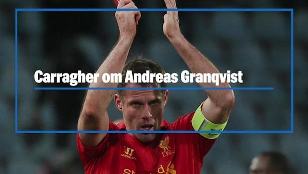 """Carragher: """"Då adlar vi Janne Andersson"""""""