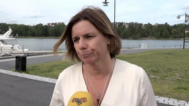 Hör hela intervjun med Isabella Lövin (MP)
