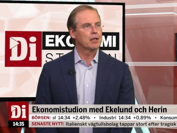 """Anders Borg: """"Självklart att byggsektorn bromsar upp rejält"""""""