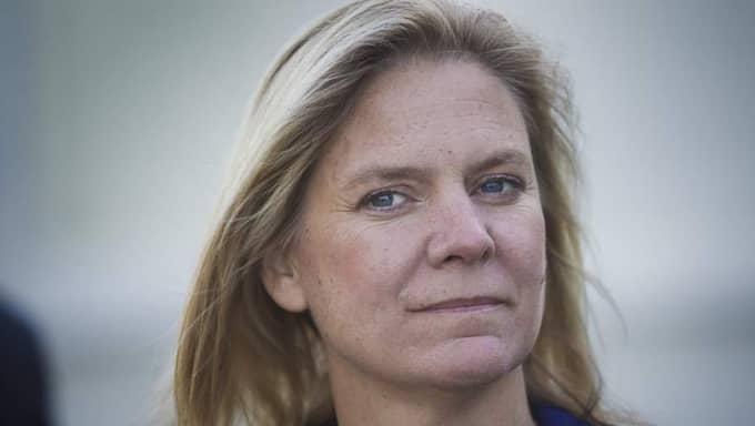 """Fel att låna. """"Finansminister Anders Borg menar att det är helt rätt att låna 240 miljoner om dagen, eftersom konjunkturen ska stimuleras"""", skriver Magdalena Andersson. Foto: Lisa Mattisson Exp"""
