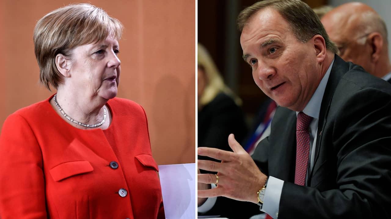 Angela merkel hotas av regeringskris