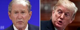 Trumps kritik mot Bush:  Största misstaget USA gjort