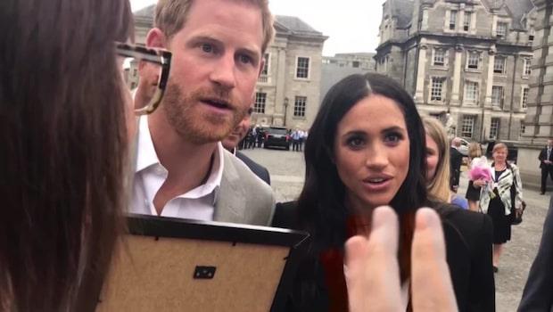 Teckningen som förvirrar Prins Harry och Meghan
