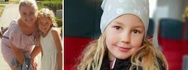 Alma, 8, kallas för tjock –  när hon har på sig overall