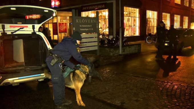 Sjunde rånet mot taxichaufförer på kort tid inträffade på tisdagskvällen. Foto: MIkael Nilsson