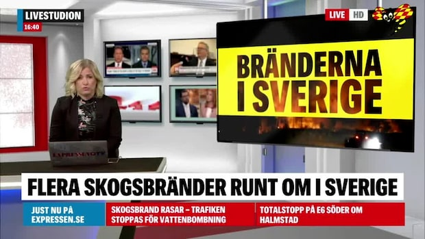 Inför Valborg – kan bli eldningsförbud i Stockholm
