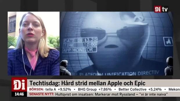 Hård strid mellan Apple och Epic Games