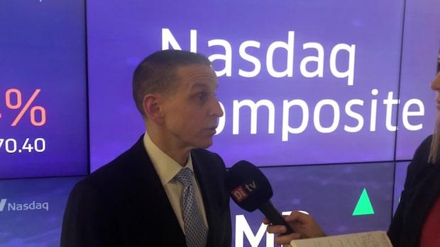 Nasdaq-chefen om marknadens återhämtning
