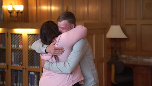 Lilly ser sin döde mans ansikte efter lyckad transplantation