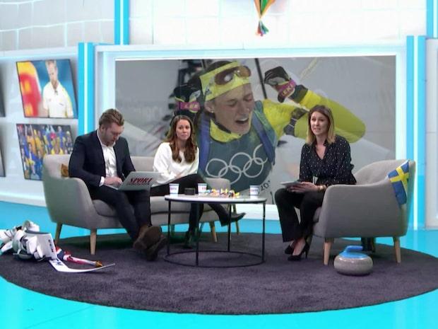 Dramat i studion – Hanna Öberg tar OS-guld
