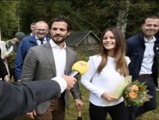 Hovet: Prinsessan Sofia är gravid