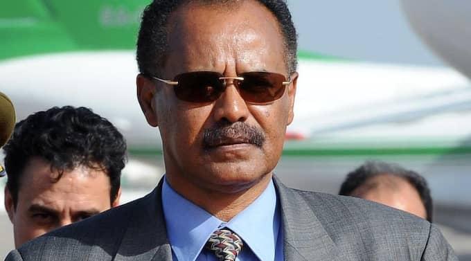 Eritreas diktator Isaias Afewerki. Foto: Geert Vanden Wijngaert