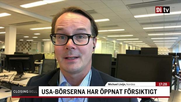 """Nordeas chefsstrateg om handelsoron: """"Ser ljuset i tunneln"""""""