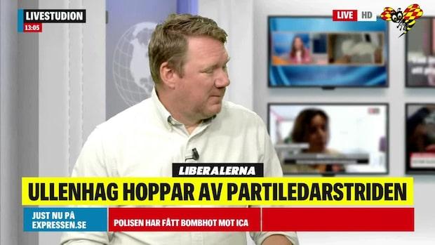 """Niklas Svensson: """"Ullenhag hade inte partiet med sig"""""""