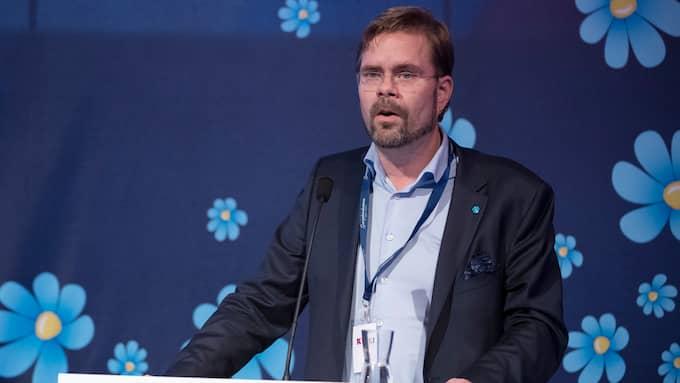 Jörgen Fogelklou (SD), gruppledare i Göteborgs fullmäktige. Foto: SVEN LINDWALL