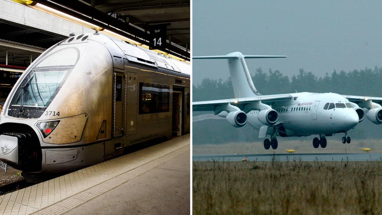 tåg till stockholm pris