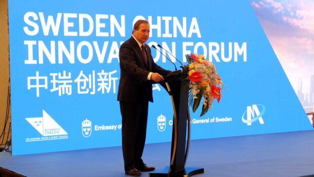 Statsminister Stefan Löfven besöker Kina