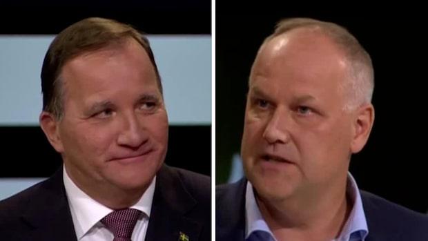 """Sjöstedts hot mot Löfven: """"Då blir det extraval!"""""""