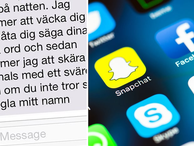 Polisen varnar för Snapchat-spöke