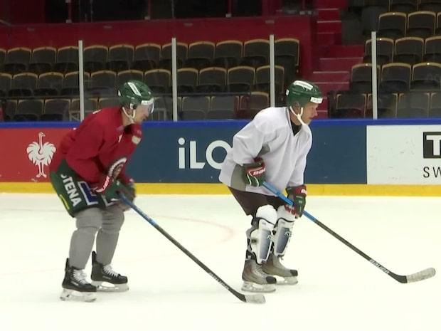 Här lär Frölundastjärnan GT:s  Markus Wulcan spela hockey