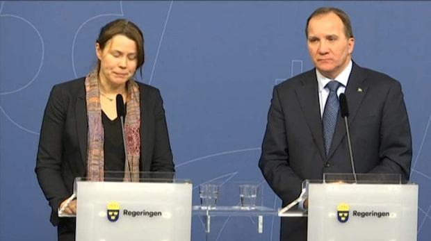 Romson nära till tårar på presskonferensen