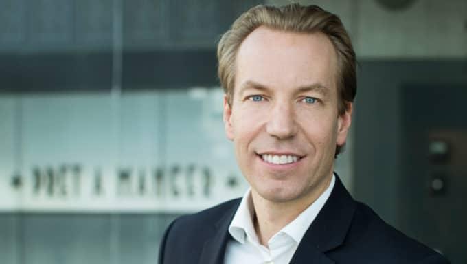 Anders Eriksson blir ny vd för Bonniers News. Foto: Peter Jönsson/Bonnier News
