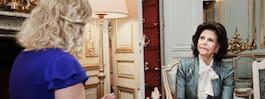 Silvia firar 75-årsdagen  med ett nedtonat kalas