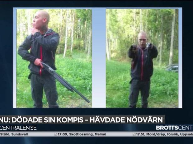Rasmus Lindvall, 24, döms för mord – sköt ihjäl sin vän
