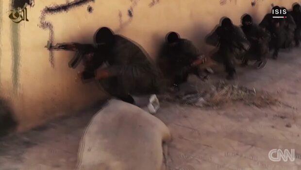 Här filmas IS-staden med dold kamera